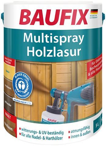 BAUFIX Holzschutz-Lasur »Palisander« Multispr...