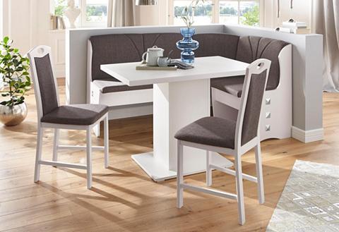 my home Kampinis virtuvės suolas su kėdėmis »P...