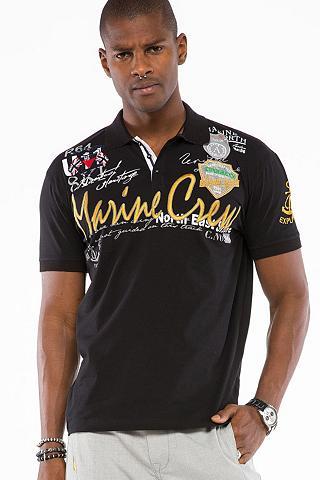 CIPO & BAXX Cipo & Baxx Herren Casual Polo marškin...