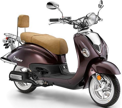 LUXXON Motoroleris » Cruiser 45 coffee« 50 cc...