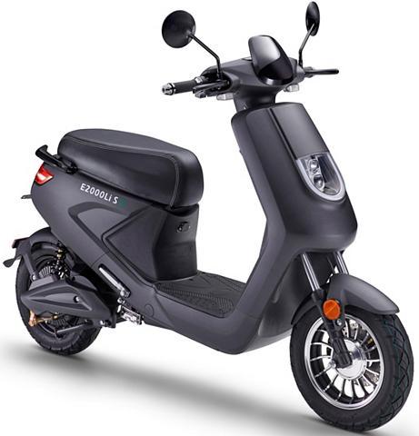Luxxon E-Motorroller »E2000LI S 25 km/h« 25 k...