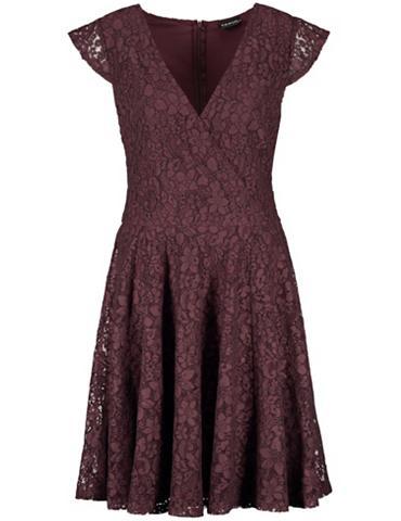 TAIFUN Suknelė trikotažinis »Spitzenkleid«