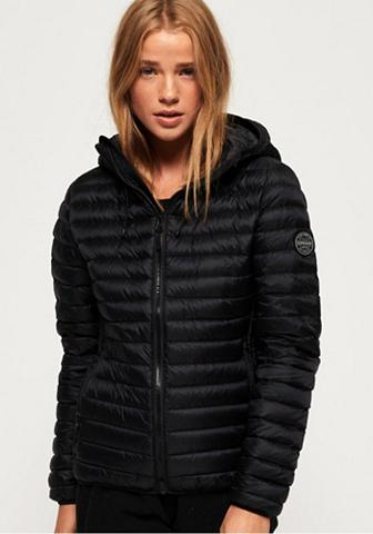 SUPERDRY Dygsniuota striukė »CORE DOWN HOODED S...