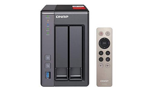 QNAP TS-251+-NAS 2-Bay Kietas diskas Gehäus...