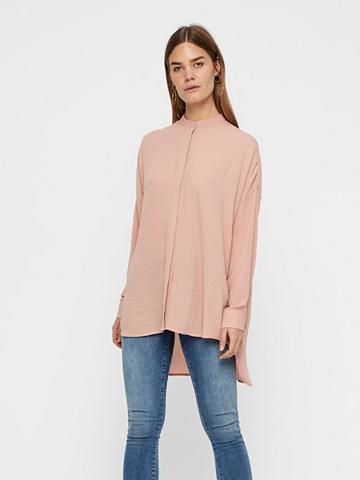 VERO MODA Ilgas laisvas forma Marškiniai