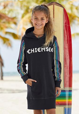 Chiemsee Sweatkleid su kišenė ir Glitzerdruck