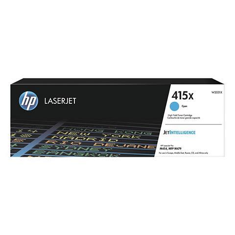 HP Spausdinimo kasetė »W2031X« 415X cyan