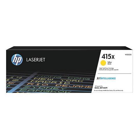 HP Spausdinimo kasetė »W2032X« 415X gelb