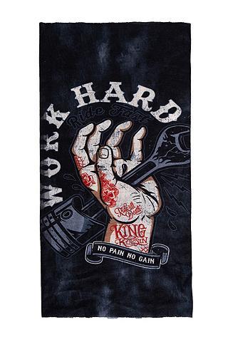 KINGKEROSIN Daugiafunkcinė kaklaskarė »Work Hard«
