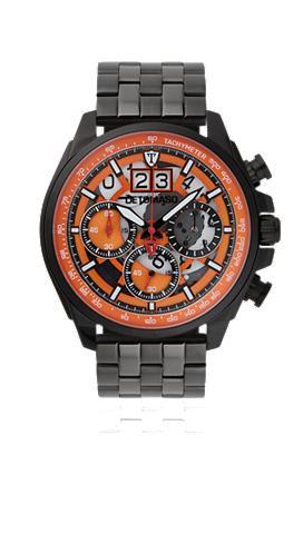 DETOMASO Chronografas- laikrodis »LIVELLO BLACK...
