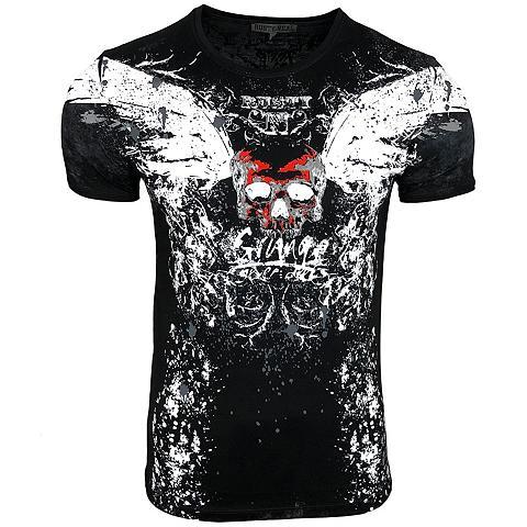 RUSTY NEAL Marškinėliai su großem raštas