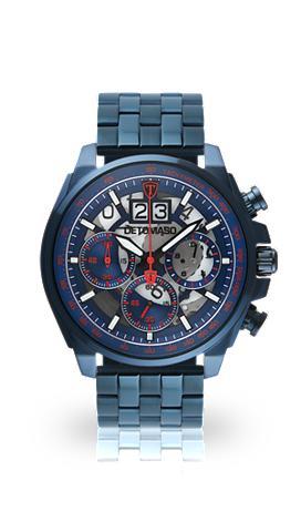 DETOMASO Chronografas- laikrodis »LIVELLO BLUE ...