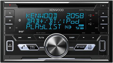 KENWOOD Auto magnetola »DPX-7100DAB«