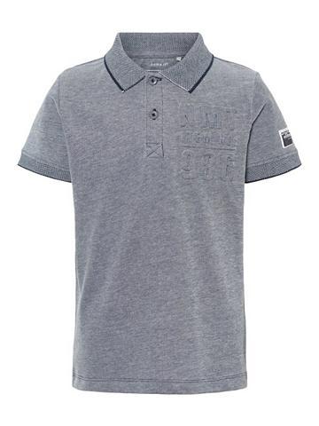 NAME IT Prägelogo Polo marškinėliai