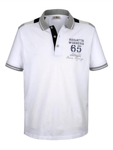 ROGER KENT Polo marškinėliai su raštas