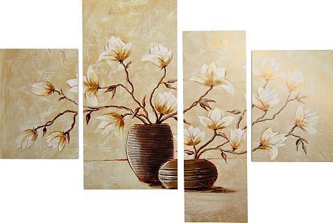 DELAVITA Paveikslas »RUMIN / vaza su Magnolien«...