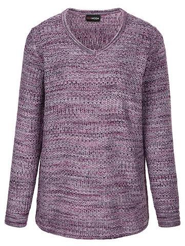 MIAMODA Megztinis iš effektvollem Melange-Garn...