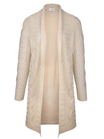 MIAMODA Ilgas megztinis su streckendem dygsnia...