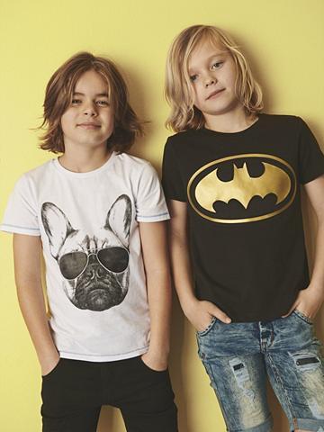 NAME IT Batman raštas Marškinėliai