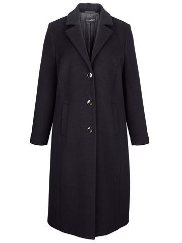 MIAMODA Vilnonis paltas in eleganter Longform