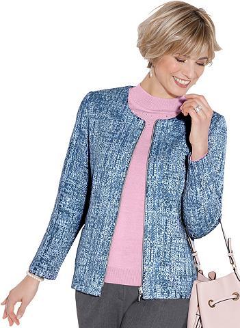 CLASSIC Megztinis im hochwertigen Jacquard-Des...