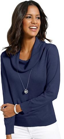 ALESSA W. Lady megztinis su halsfernem apykaklė ...