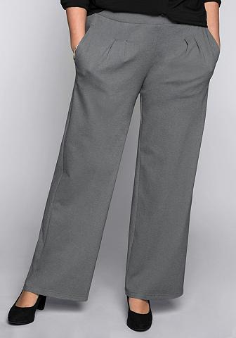 SHEEGO BASIC Sheego Kelnės su kantu
