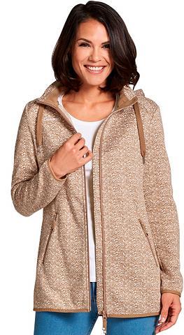CASUAL LOOKS Flisinis megztinis su nuimamas gobtuva...