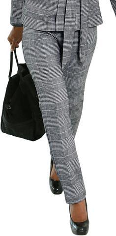 LADY Kelnės su Glencheck-Muster