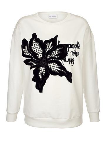 AMY VERMONT Sportinio stiliaus megztinis su aplika...