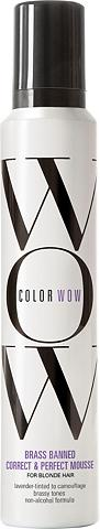 COLOR WOW Haarmousse »Brassed Banned Mousse« dėl...