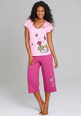 Pižama su tamprėmis su žaismingas pieš...