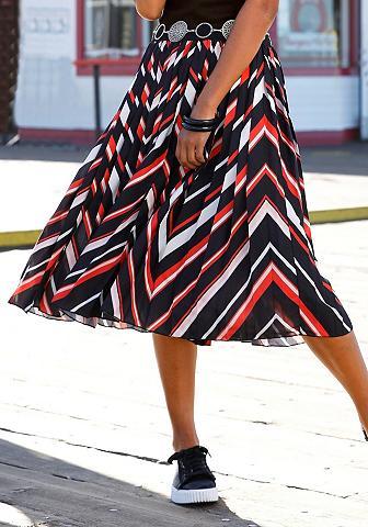 BUFFALO Plisuotas sijonas