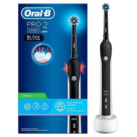 Oral B Elektrische Zahnbürste PRO 2 2000 Blac...
