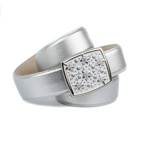 ANTHONI CROWN Diržas in Silver su handmade Glasur-Sc...