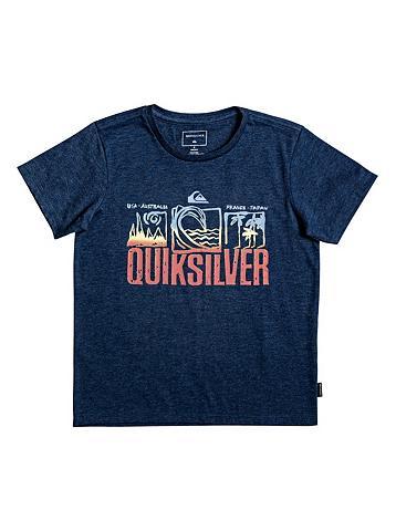 QUIKSILVER Marškinėliai »Tripple Up«