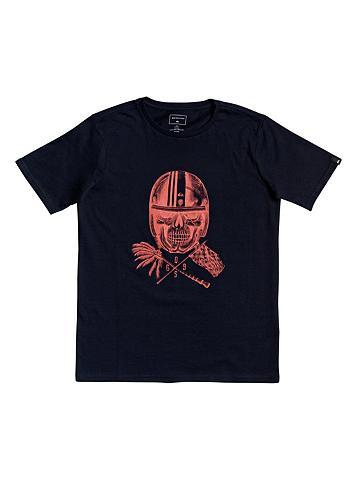 QUIKSILVER Marškinėliai »Skull Open Face«