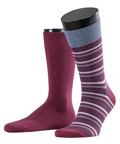 ESPRIT Kojinės Multistripe 2-Pack (2 poros)