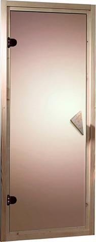 KARIBU Saunos durys dėl 38/40 mm pirtis BxH: ...
