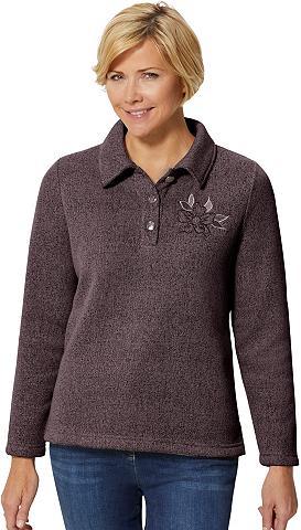 CLASSIC BASICS Marškinėliai su apvadas