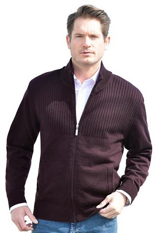 CATAMARAN Megztinis su geripptem stačia apykakle...
