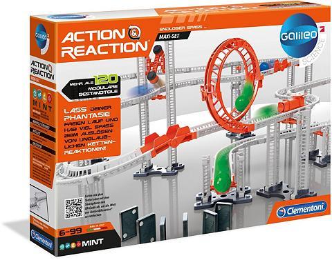 Clementoni ® Kugelbahn-Bausatz »Galileo Action & ...