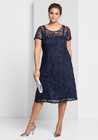 SHEEGO Nėriniuota suknelė