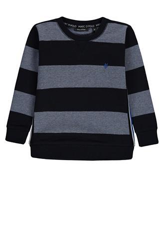MARC O'POLO JUNIOR Sportinio stiliaus megztinis su dryžia...