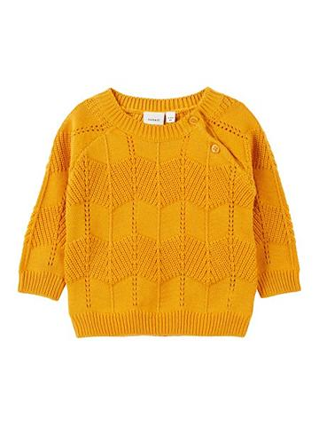 NAME IT Baumwoll megztinis