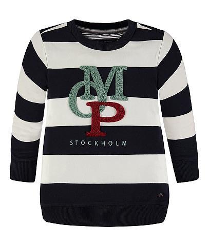 MARC O'POLO JUNIOR Sportinio stiliaus megztinis Logo Elas...