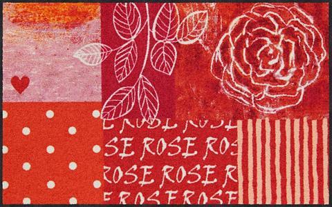 SALONLOEWE Kilimas »Rose Heart« rechteckig aukšti...