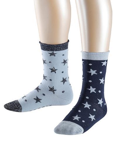 ESPRIT Kojinės Dots & Stars 2-Pack (2 poros)