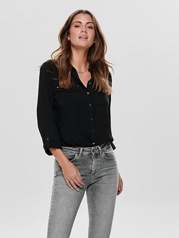 ONLY Vienspalvis marškiniai ilgomis rankovė...