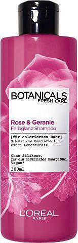 BOTANICALS Haarshampoo »Rose ir Geranie« Farbglan...
